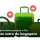Medida provisória propõe o fim do custo extra de bagagens.